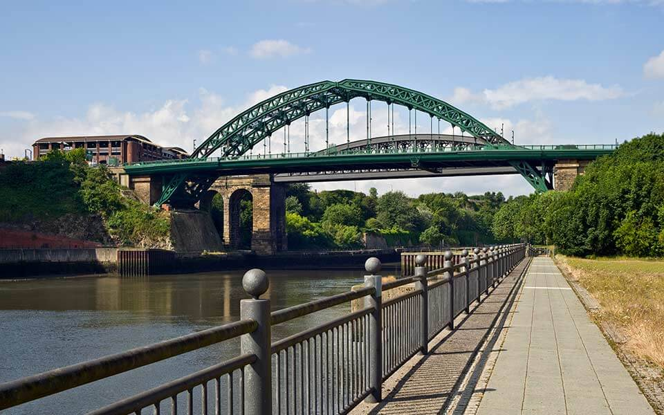 Wearmount Bridge Sunderland