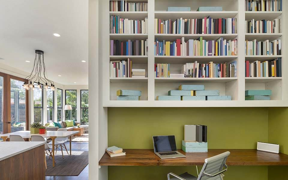 Setting up a home office that really works for you - Bureau de travail maison ...