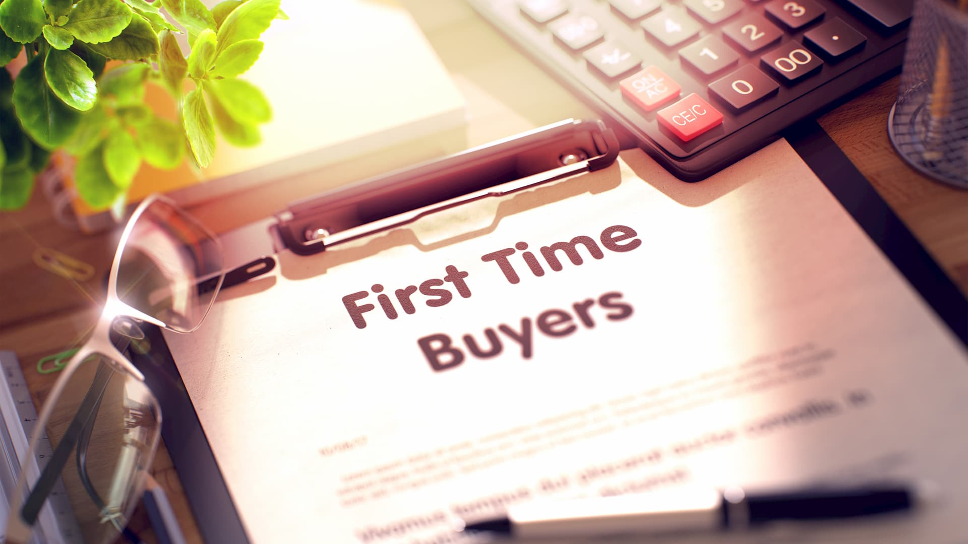 First time buyers contract