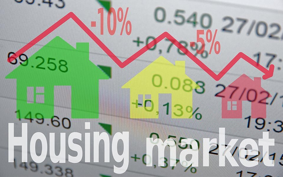 Housing market graphic trends